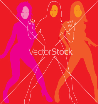 Free lets dance vector - Free vector #270775