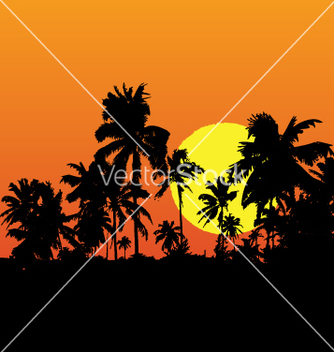Free tropical vector - Free vector #271005