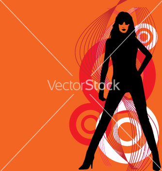 Free sexy silhouette vector - Free vector #271105