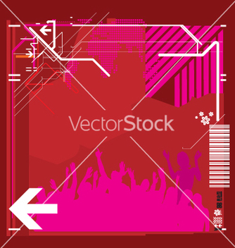 Free high tech background vector - Free vector #271295