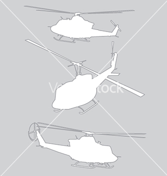 Free choppers on grey vector - бесплатный vector #271475