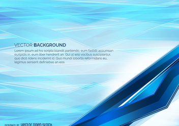 Light Blue Abstract background - Free vector #271585
