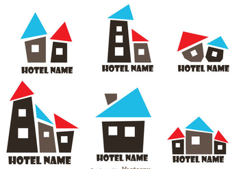 Hotel Logo Vector Pack - Free vector #272395