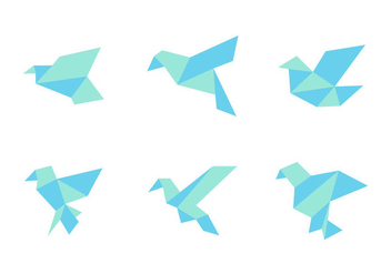 Free Simple and Neat Birds Vector - Free vector #272635