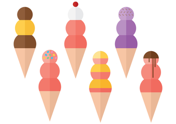 Snow Cone Ball Collections - бесплатный vector #272805