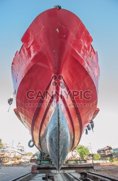 Red Ship - image gratuit #273555