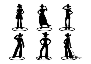 Cow Girl Vector - Free vector #274145