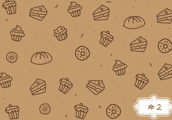 Free Bake Sale Pattern #2 - vector gratuit #274155