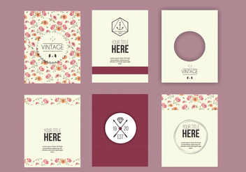 Decorative Greeting Design - vector #274275 gratis