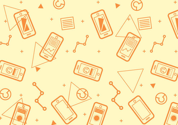 Free Iphone 6 Pattern #5 - Free vector #274335