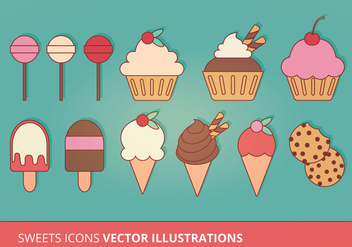 Vector Icons Collection - Kostenloses vector #274415