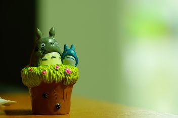 Totoro platic model, king of forrest - бесплатный image #274785