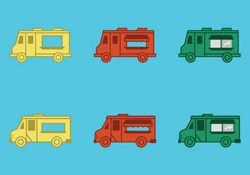 Free Food Truck Vector Illustration - Kostenloses vector #275165