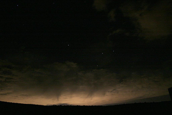 Salt Lake Light Pollution Seen From Park City - бесплатный image #276345