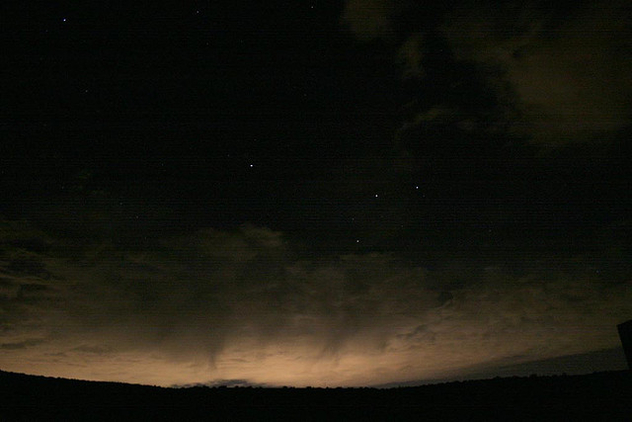 Salt Lake Light Pollution Seen From Park City - Free image #276345
