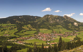 Nature - Panarama of Bad Hindelang - Free image #279975