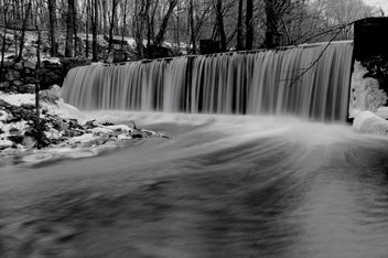 Winter Waterfall - Kostenloses image #280735