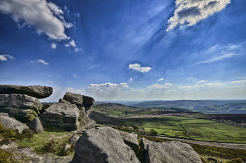 Stanage Edge Peak District - бесплатный image #288385