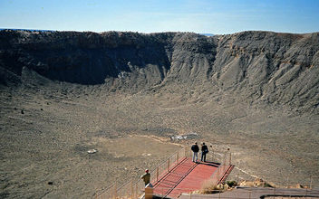inside Canyon Diablo meteor crater - Kostenloses image #290895