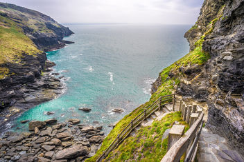 Tintagel Castle, Cornwall, United Kingdom - бесплатный image #291625