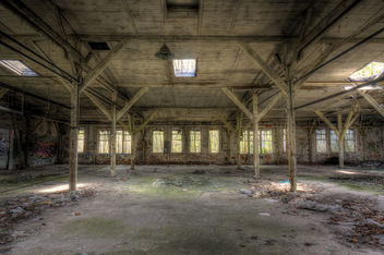 Abandoned Furniture Factory (2) - Free image #291835