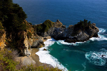 Pfeiffer State Park, Big Sur Coast California - бесплатный image #292275