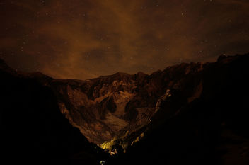 Marble quarries by night - Free image #292685