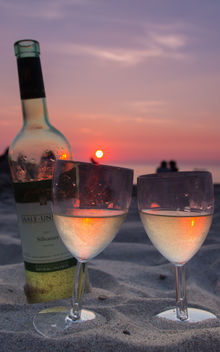 Sunset for two ... - Free image #293195