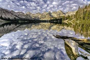 Alice Lake Sawtooth Mountains Idaho - Free image #293275