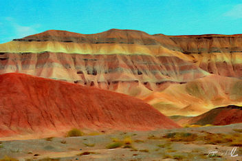 Painted Mountains - image #294495 gratis