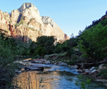 Virgin River Morning, Zion 5-14 - Free image #295855
