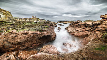 Tantallon castle, Scotland, United Kingdom - Landscape photography - бесплатный image #297425