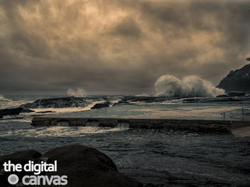 whale beach storm swell - image #297475 gratis