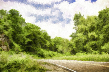 Walk on Down a Country Road - image #299065 gratis