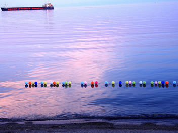 Turkey (Tekirdag) Evening light on the calm sea - бесплатный image #299155