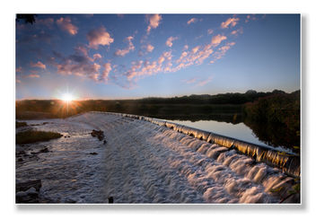 Kirkthorpe Weir Sunrise - бесплатный image #300195