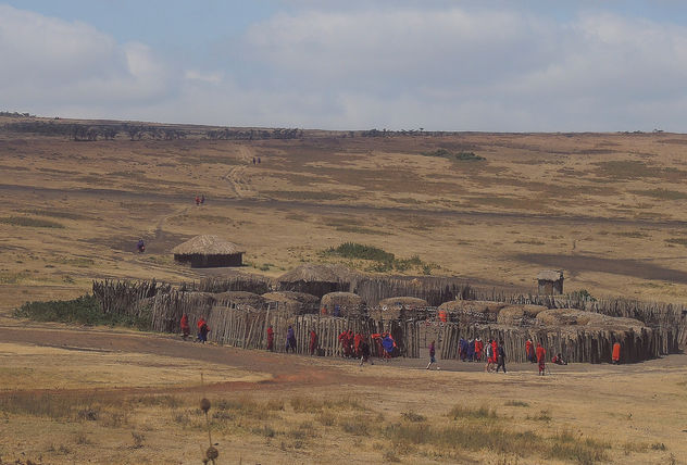 Tanzania- One of the Masai villages - image gratuit #300735