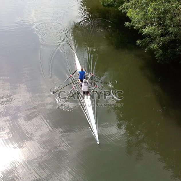 Rowers on the river Avon - Free image #301435