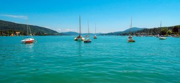 Yachts on a sea - Free image #301465