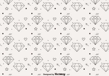 Free Vector Diamond Pattern - vector gratuit #301535