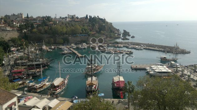 Antalya Kaleici Port,Turke - бесплатный image #301575
