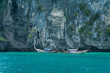 two fishing boats on Andaman islands - бесплатный image #301675