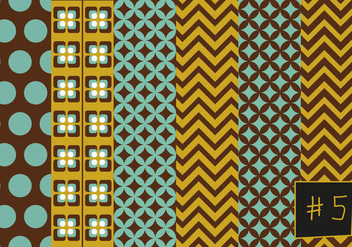 Free Mid Century Pattern #5 - Free vector #301765