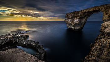 Azure Window - Gozo, Malta - Landscape, travel photography - Free image #301875
