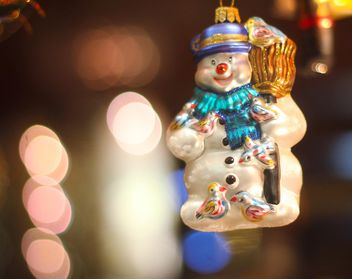 Christmas holiday snowman - image #302365 gratis