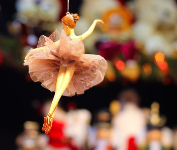 Christmas ballet girl decoration - бесплатный image #302385