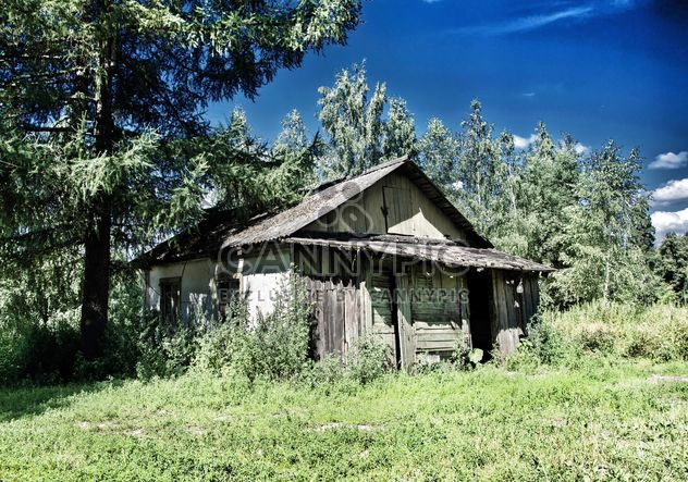 Old wooden hut - Free image #302415
