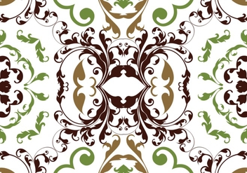 Seamless floral pattern vector - бесплатный vector #302635