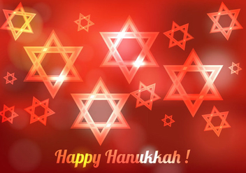 Free Hanukkah Blured Vector - бесплатный vector #302715