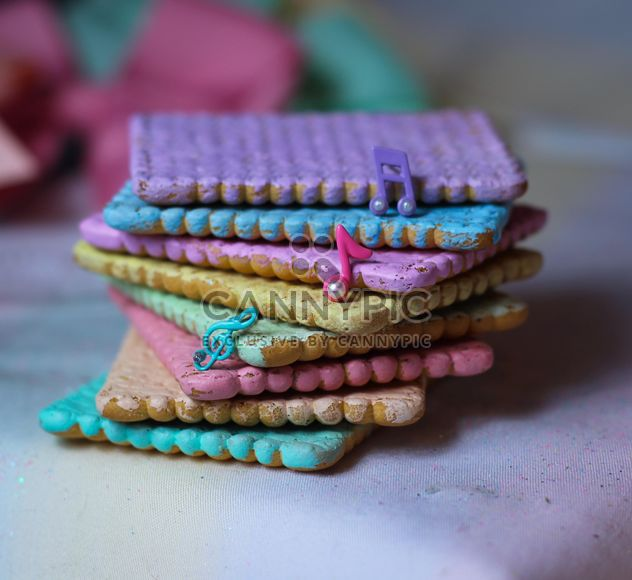 Cookies decorated with glitter - Kostenloses image #303255